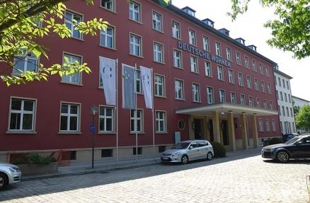 Idyllisch: Das Hauptquartier der Deutsche Wohnen SE in Berlin-Wilmersdorf